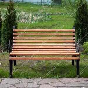 Парковая скамейка кованая