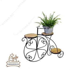 Подставка на три цветка Велосипед
