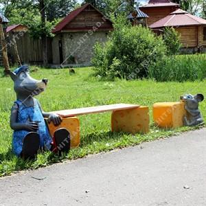 Комплект Садовых фигур сырный