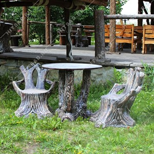 Комплект мебели для сада Пни