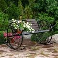 Кованая кресло качалка 881-46 - фото 13558