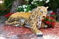 Скамейка из стеклопластика Ягуар - фото 15308